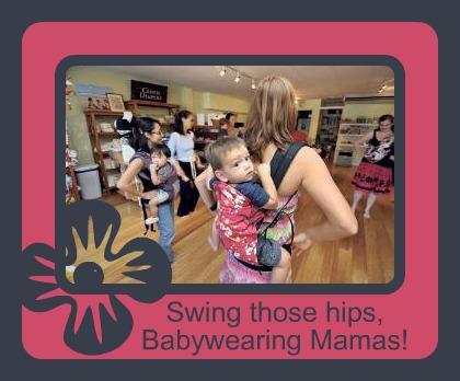 PAXbaby Babywearing Hula Class