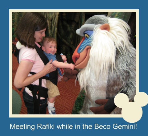 Beco Gemini in DisneyWorld