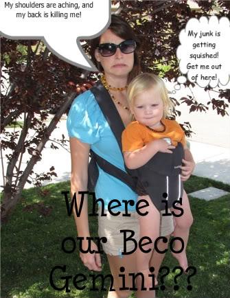 PAXbaby Baby Bjorn Beco Gemini