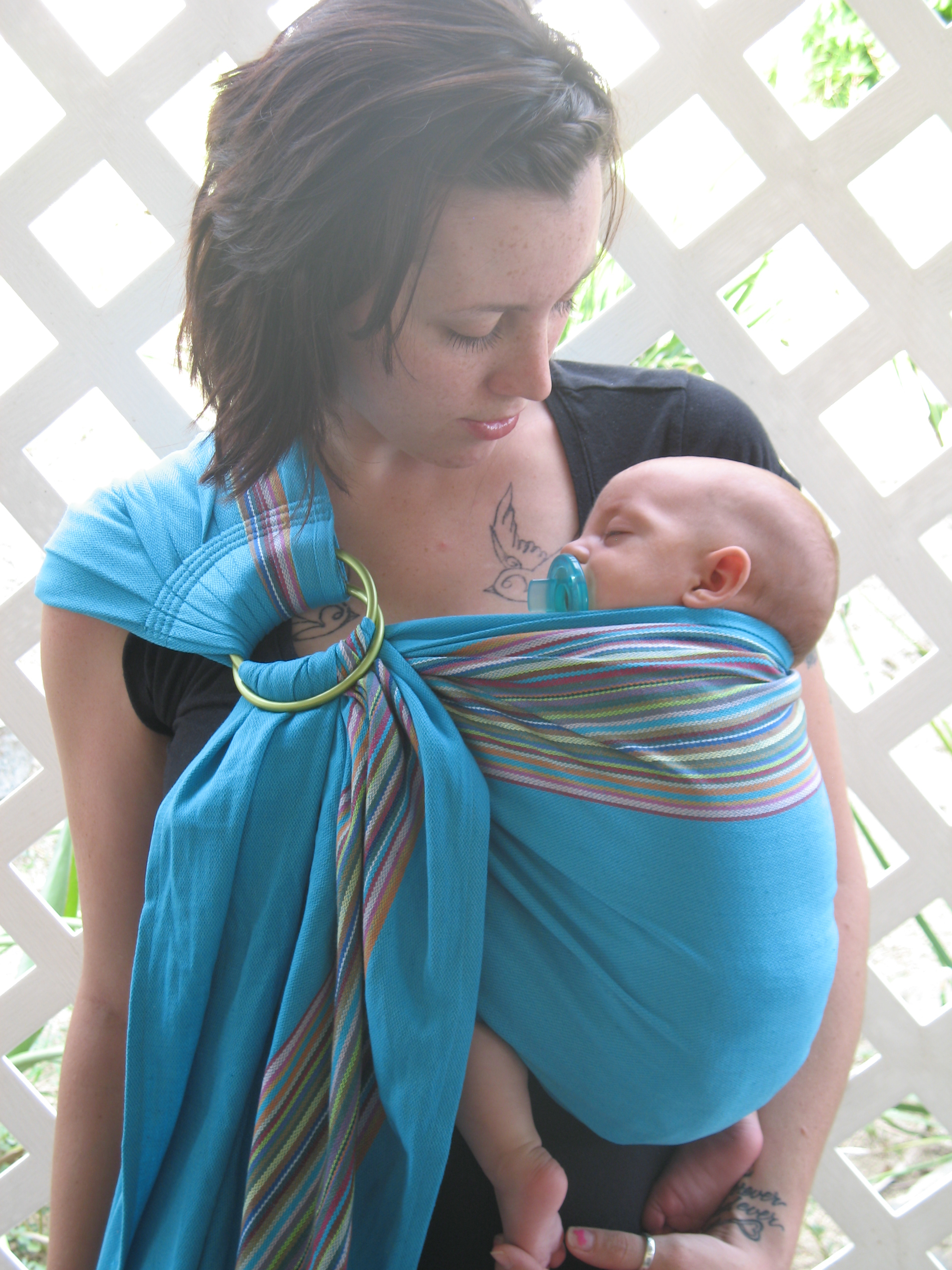PAXbaby BB Slen Wrap Ring Sling
