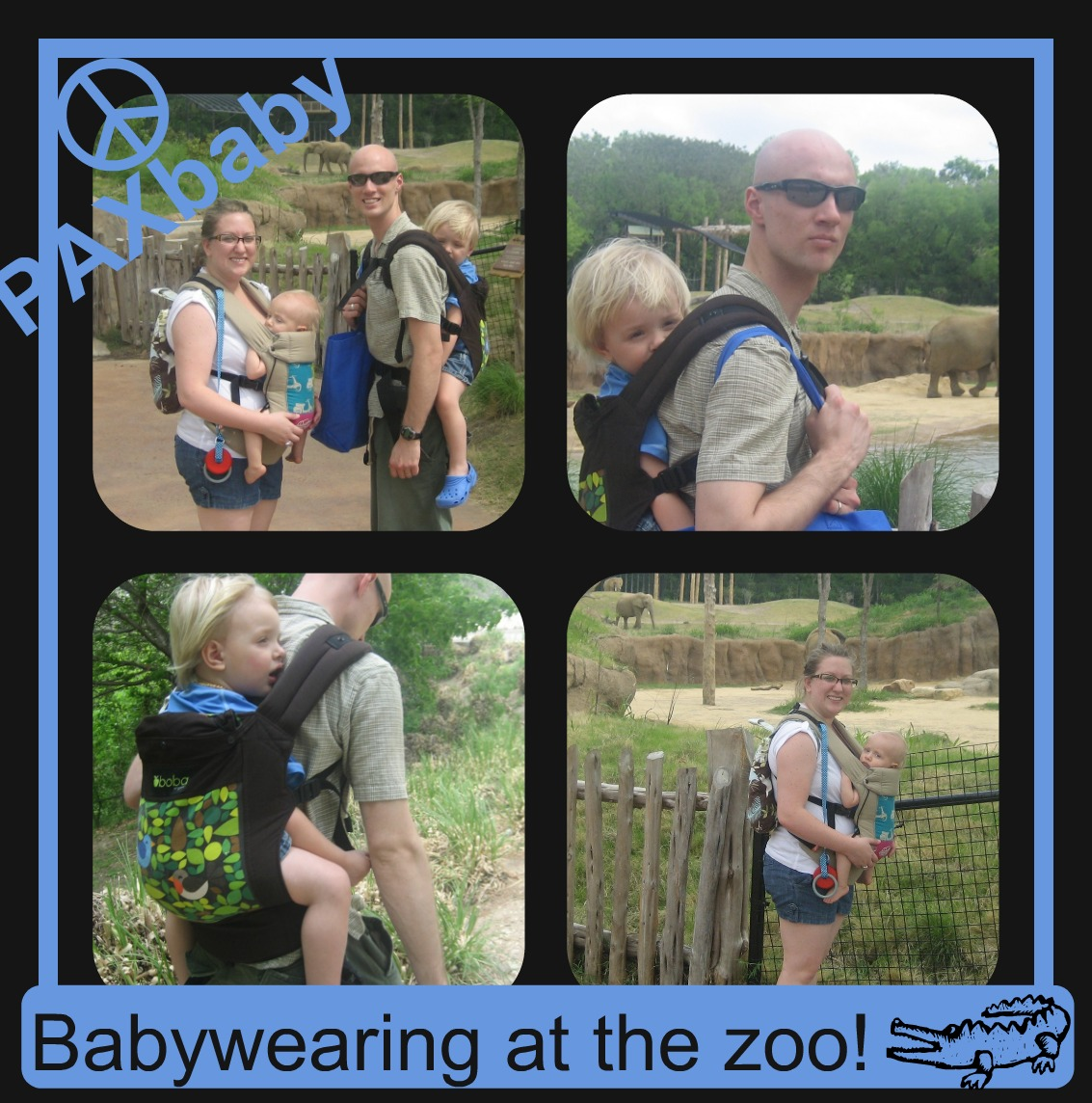 Babywearing at the Zoo