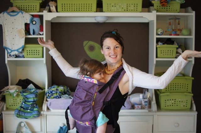 DIY Babywearing Shrug