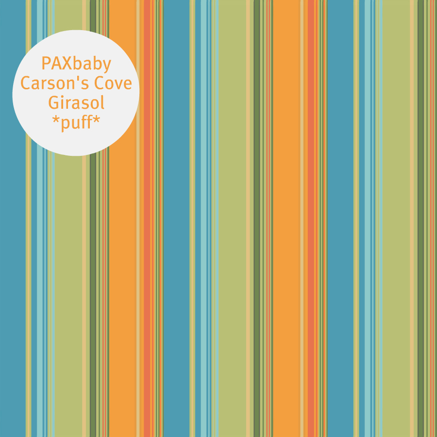 PAXbaby Girasol Carson's Cove crema cream puff weft