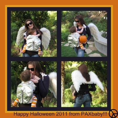 PAXbaby babywearing Halloween costume 2011