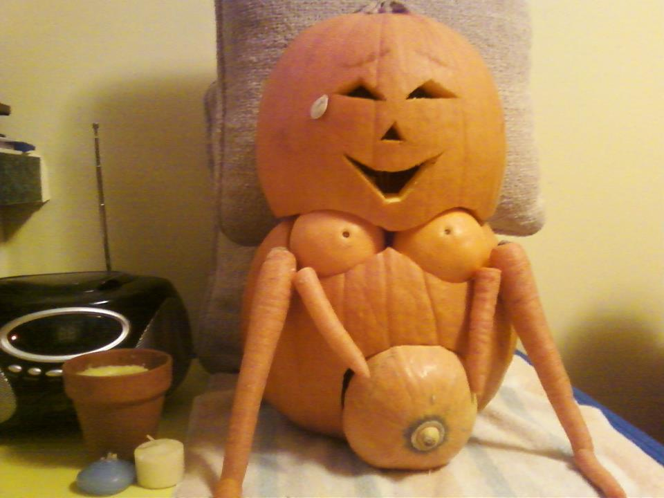 PAXbaby Happy Halloween birth pumpkin