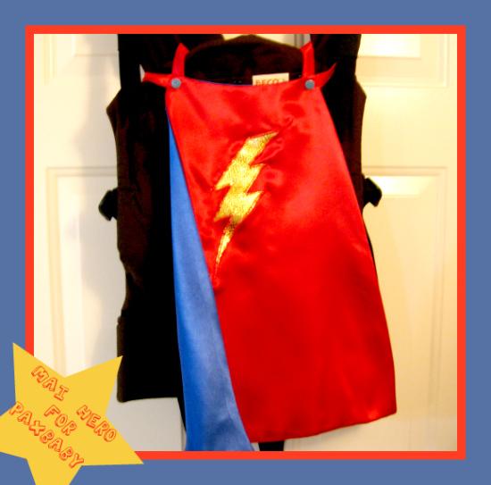 PAXbaby Mai Hero babywearing cape