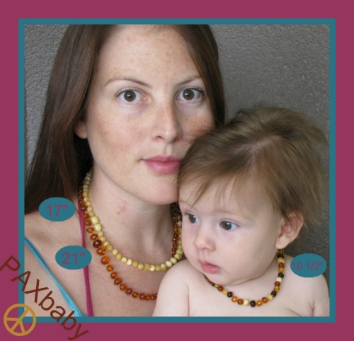 PAXbaby Amber Necklace