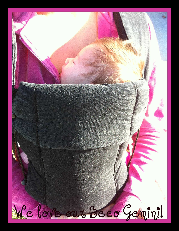 PAXbaby Beco Gemini newborn infant babywearing