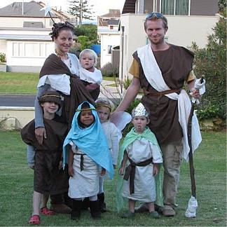 Halloween Babywearing Costume