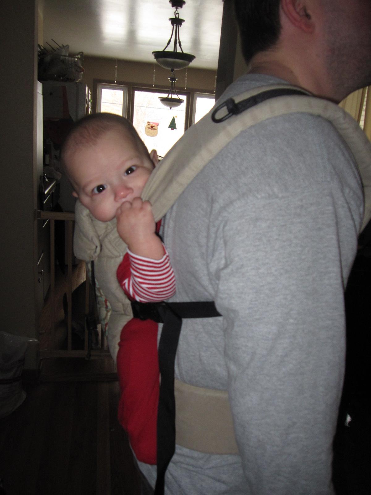 Sling Exchange happy baby!